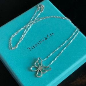 Tiffany & Co Butterfly Necklace